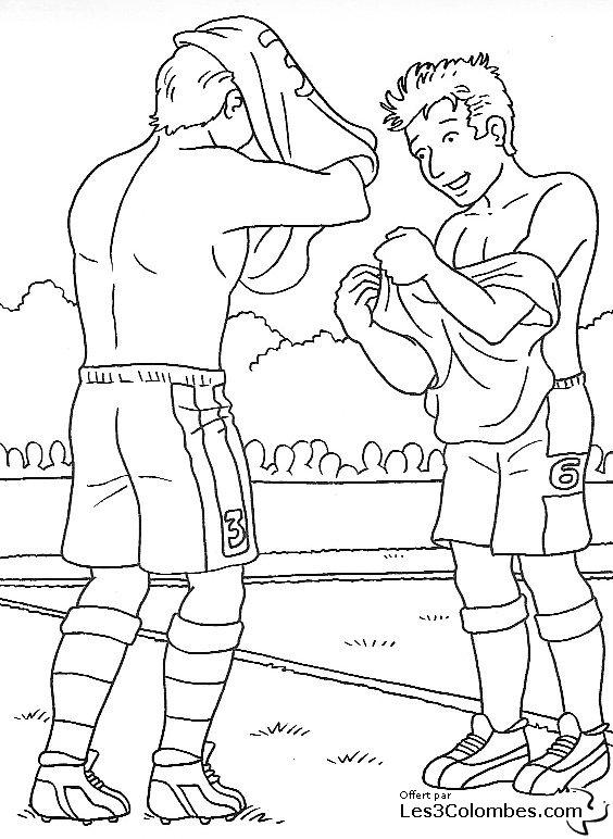 Coloriage coupe du monde de football 02 coloriage en - Coloriage enfants en ligne ...