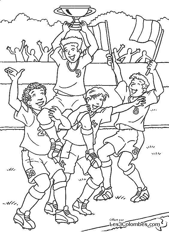 Coloriage Foot 21 Coloriage En Ligne Gratuit Pour Enfant