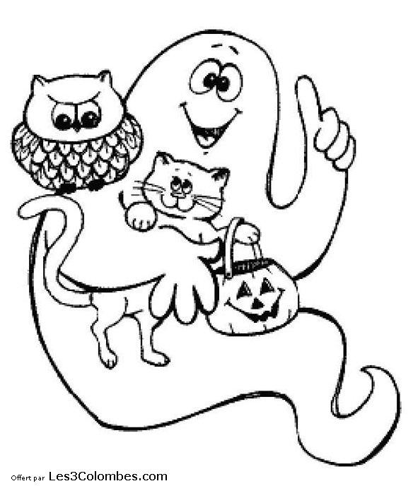 Coloriages halloween 029 coloriage en ligne gratuit pour - Coloriage en ligne enfant ...