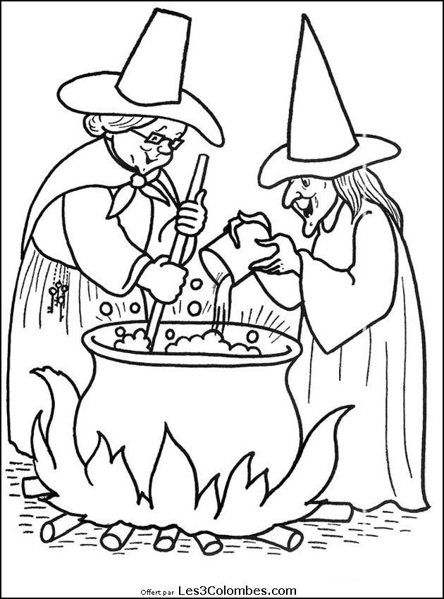 Coloriages halloween 082 coloriage en ligne gratuit pour - Coloriage en ligne enfant ...