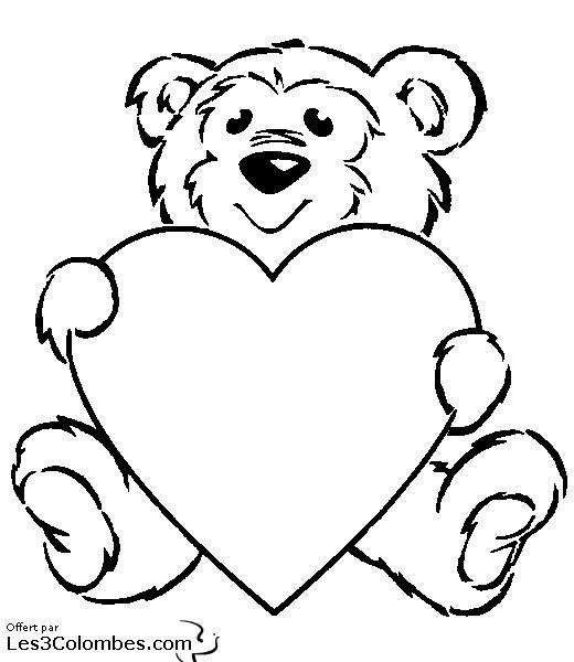 Dessin Saint Valentin 009 Coloriage En Ligne Gratuit Pour Enfant