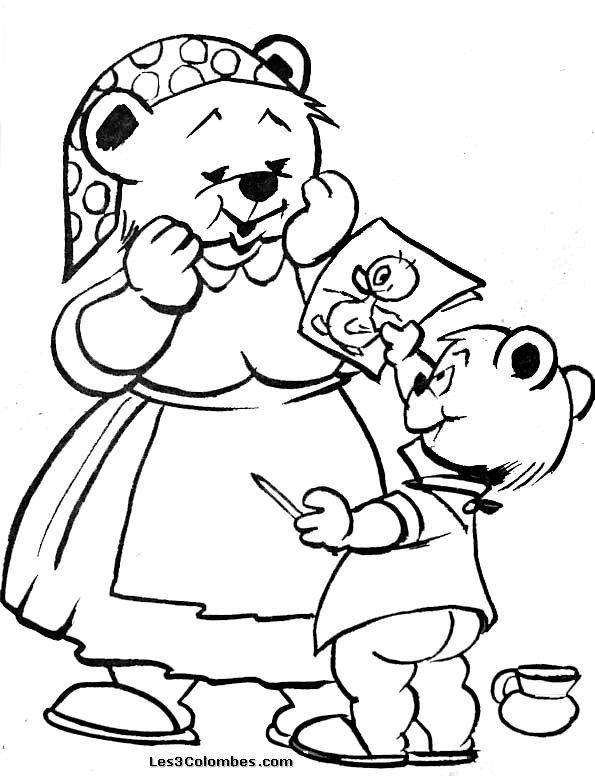 Joyeuse fete des meres 16 coloriage en ligne gratuit - Coloriage en ligne enfant ...