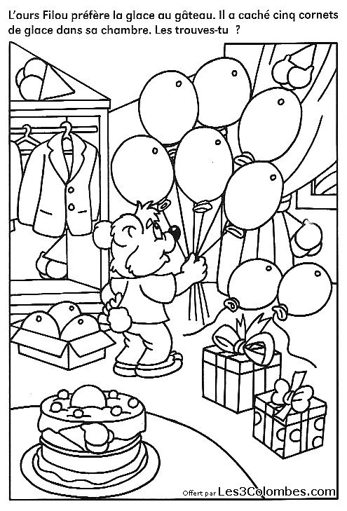 Dessin concentration 38 coloriage en ligne gratuit pour enfant - Coloriage pour enfant en ligne ...