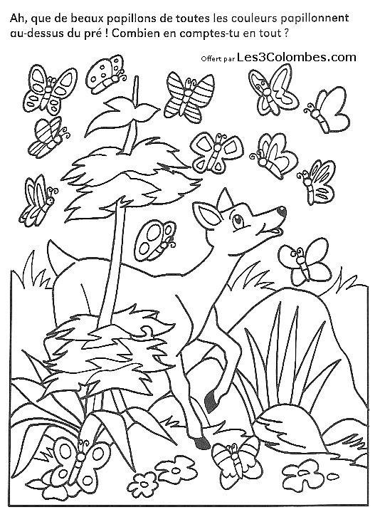 Jeux de concentration 04 coloriage en ligne gratuit pour - Coloriage enfants en ligne ...