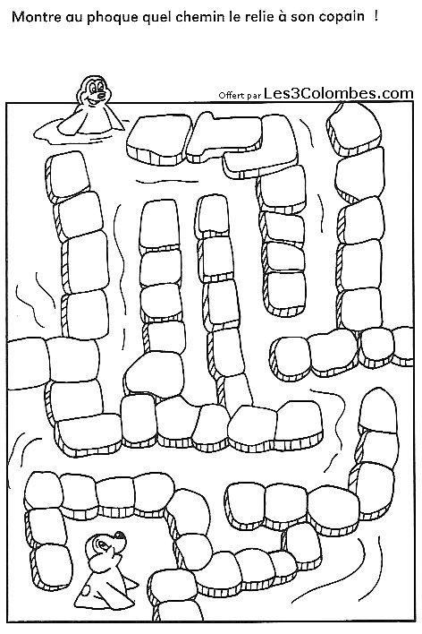 Labyrinthe coloriage 45 coloriage en ligne gratuit pour - Coloriage en ligne enfant ...