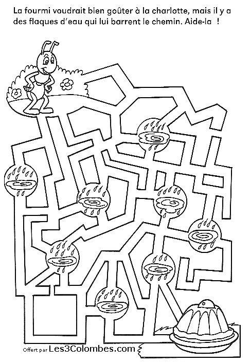 labyrinthe enfants 29 - Coloriage en ligne gratuit pour enfant