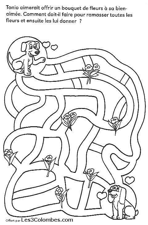 labyrinthe enfant 27 - Coloriage en ligne gratuit pour enfant