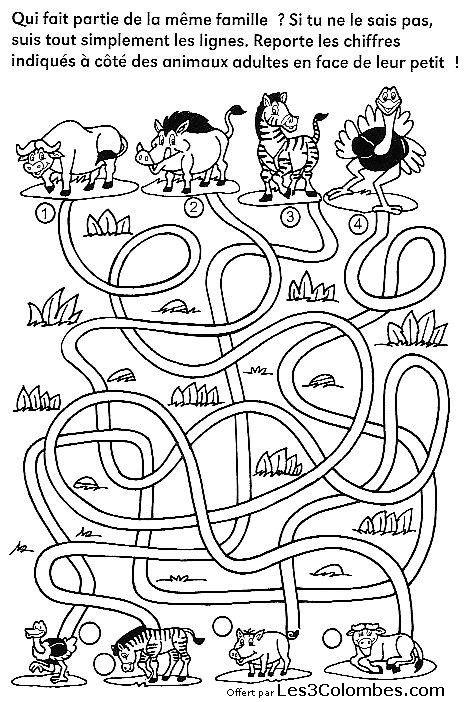 Labyrinthe imprimer 17 coloriage en ligne gratuit pour enfant - Coloriage pour enfant en ligne ...