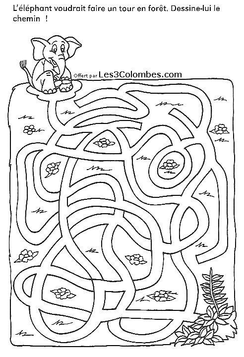 labyrinthe imprimer 20 - Coloriage en ligne gratuit pour enfant