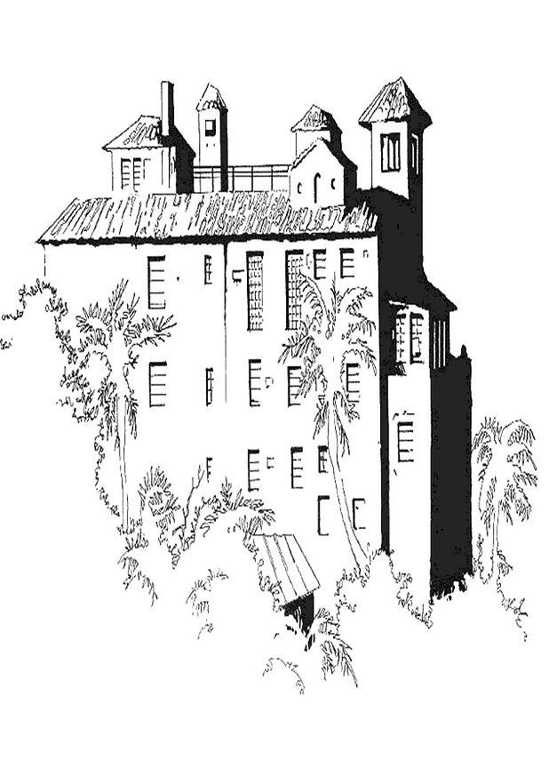 Coloriage En Ligne Gratuit Chateau.Coloriage Chateau 04 Coloriage En Ligne Gratuit Pour Enfant
