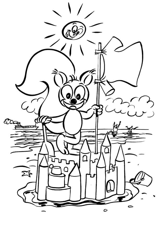 Coloriage Chateau En Ligne.Coloriage Chateau 06 Coloriage En Ligne Gratuit Pour Enfant