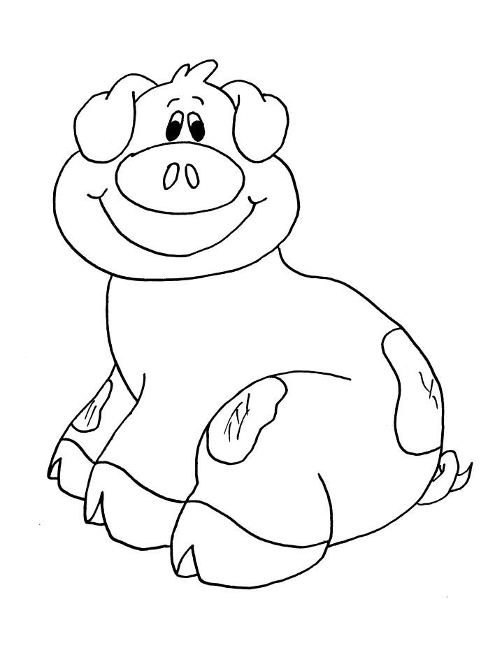 Coloriage cochon 81 coloriage en ligne gratuit pour enfant - Coloriage en ligne enfant ...
