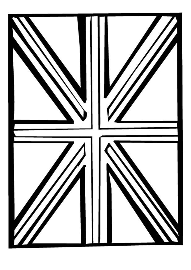 Coloriage Drapeau Royaume Uni Union Jack 23 Coloriage En Ligne Gratuit Pour Enfant