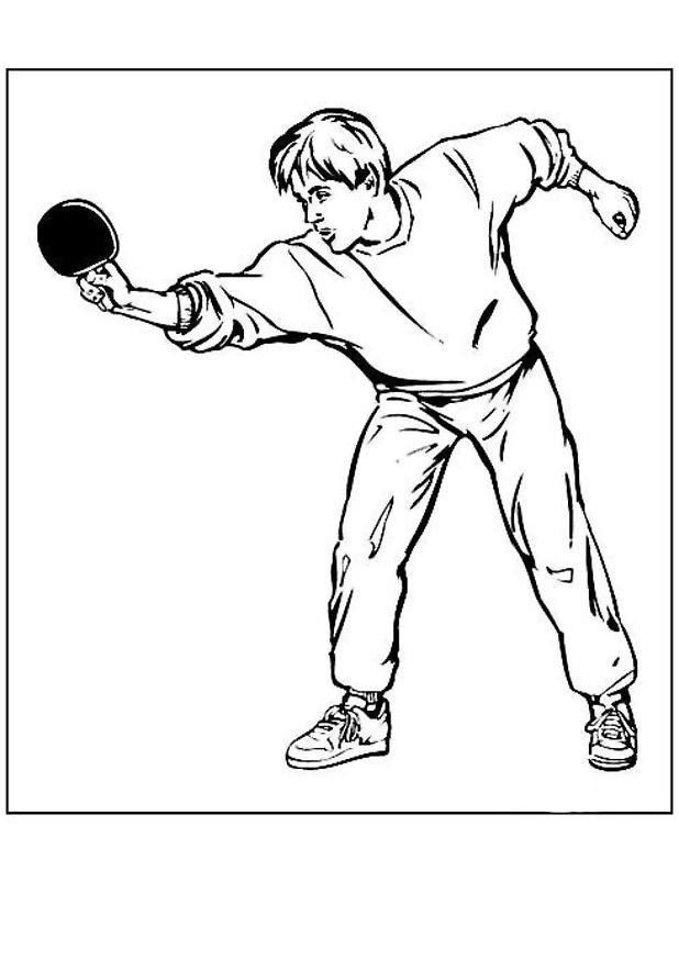 Coloriage jeux olympique tennis de table 24 coloriage en - Coloriage en ligne enfant ...