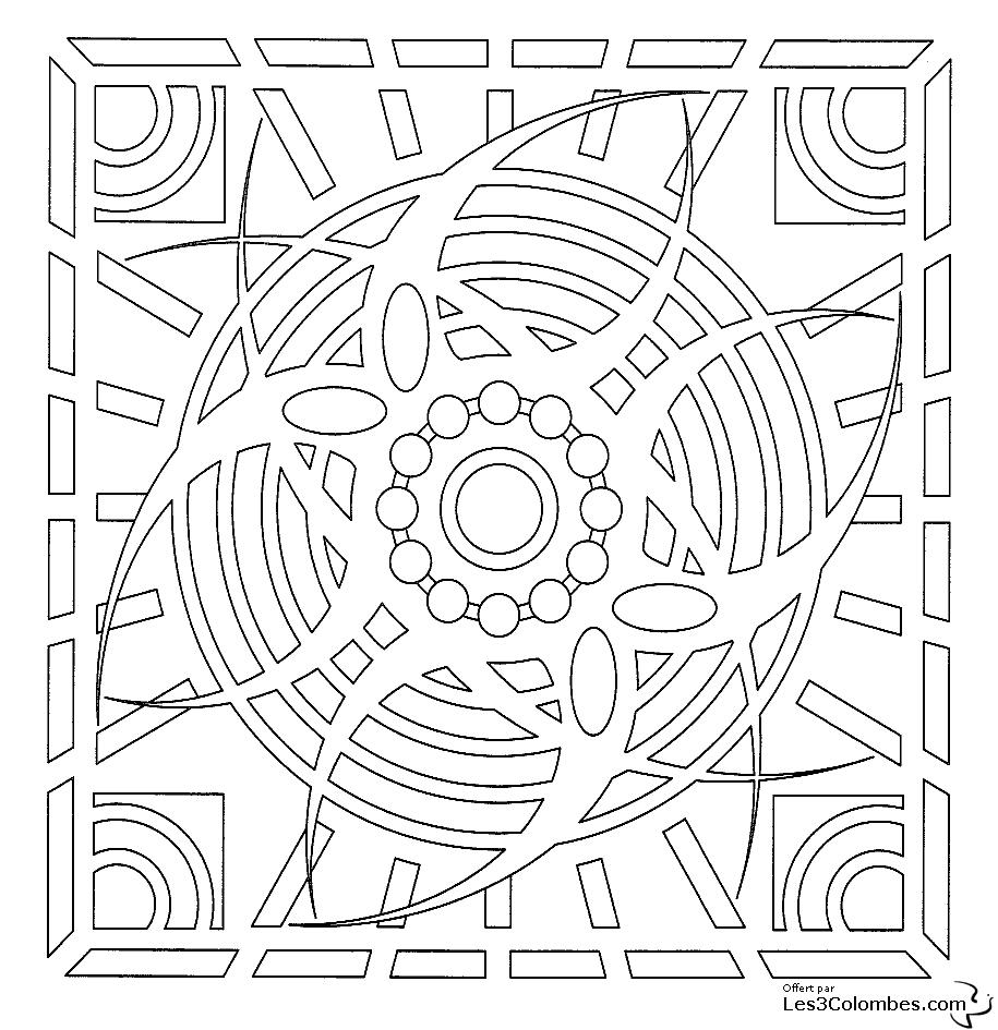 Coloriage Mandala 40 Coloriage En Ligne Gratuit Pour Enfant