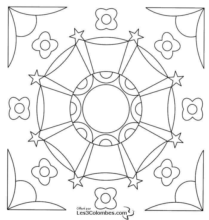 Coloriage mandala 49 coloriage en ligne gratuit pour enfant - Coloriage mandala en ligne ...