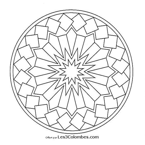 Coloriage De Mandala En Ligne Gratuit.Mandalas A Imprimer 54 Coloriage En Ligne Gratuit Pour Enfant