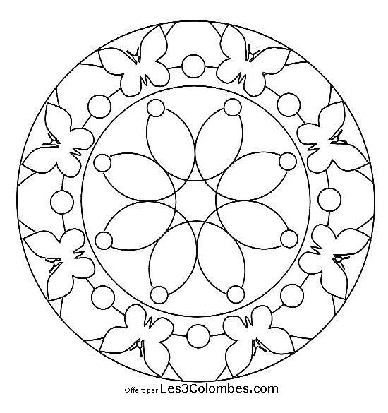 Mandala Enfant 66 Coloriage En Ligne Gratuit Pour Enfant