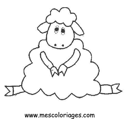 Coloriage Mouton 02 Coloriage En Ligne Gratuit Pour Enfant