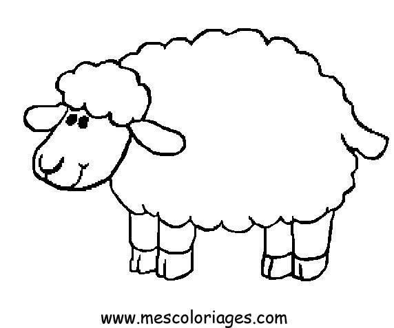 Coloriage Mouton 08 Coloriage En Ligne Gratuit Pour Enfant