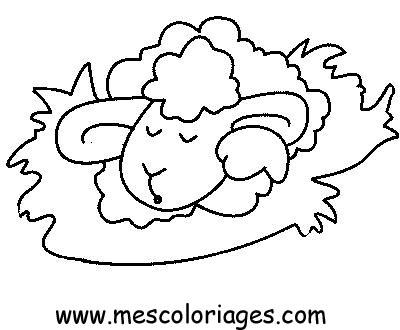 Coloriage Mouton 44 Coloriage En Ligne Gratuit Pour Enfant