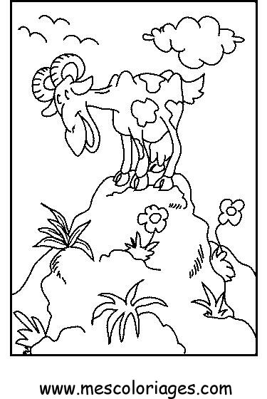Coloriage mouton 53 coloriage en ligne gratuit pour enfant - Coloriage enfants en ligne ...