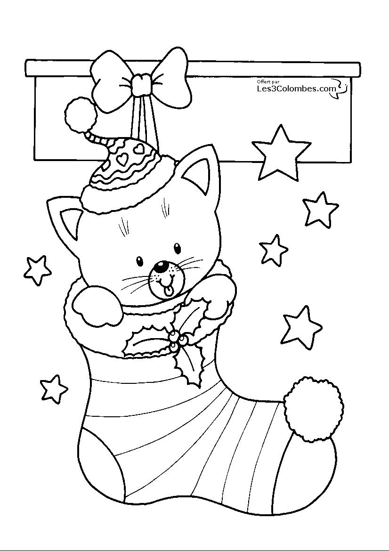 coloriage de noel 124   Coloriage en ligne gratuit pour enfant