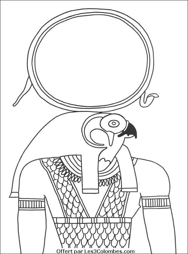 Coloriages Egypte 05 Coloriage En Ligne Gratuit Pour Enfant
