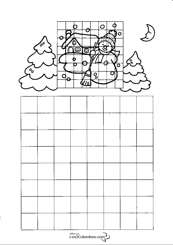 jeu de noel a imprimer 108 - Coloriage en ligne gratuit pour enfant