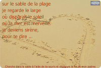 Sur le sable...
