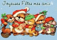 Joyeuses fêtes mes amis
