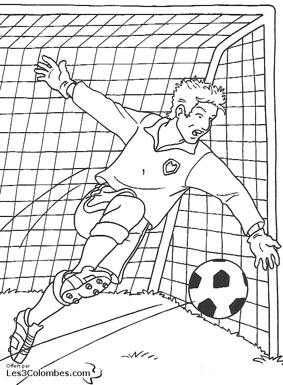 coloriage foot 01