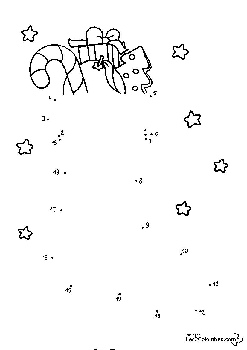 jeu de noel a imprimer 113 - Coloriage en ligne gratuit pour enfant